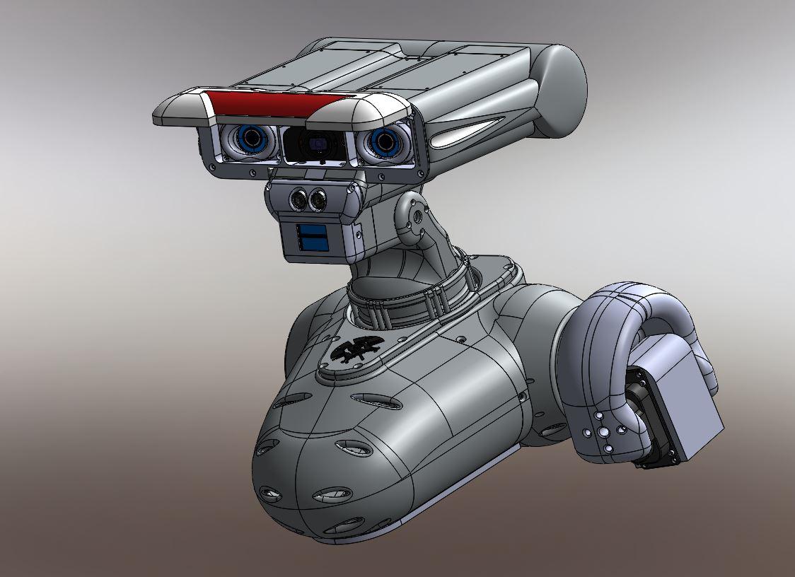 RedOhm robot Maya etude de l'epaule 001