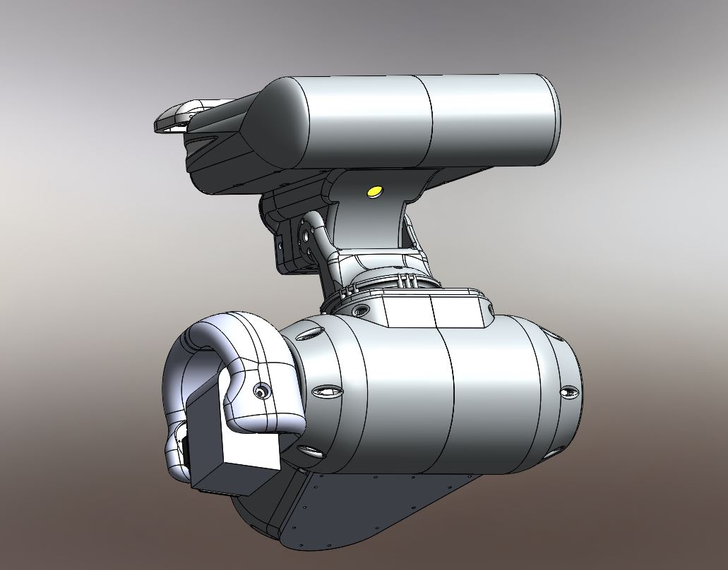 RedOhm robot Maya etude de l'epaule 003