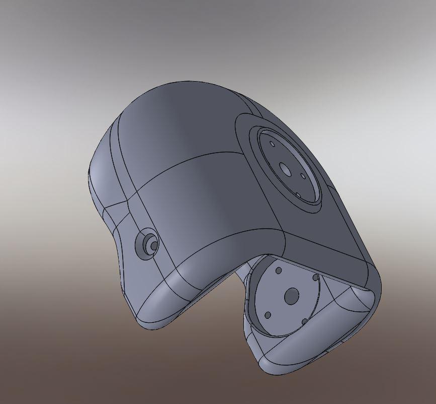 RedOhm robot Maya etude de l'epaule 005