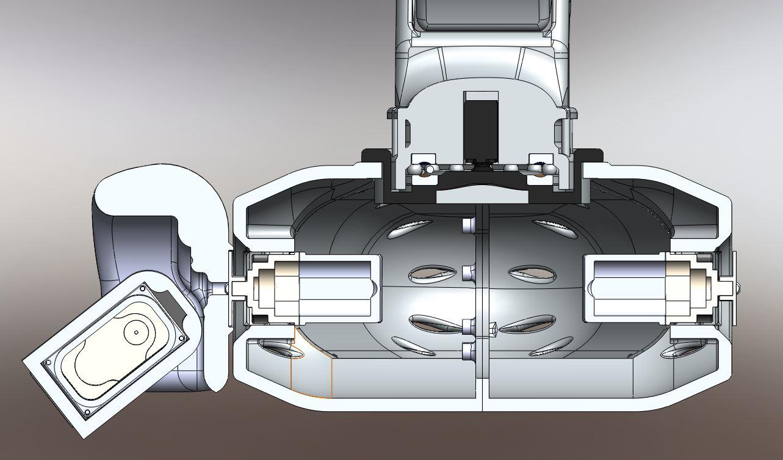 RedOhm robot Maya etude de l'epaule 007