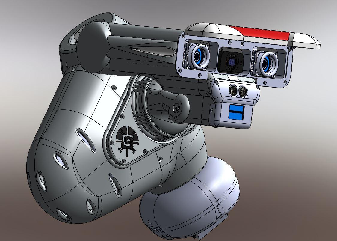 RedOhm robot Maya etude de l'epaule 014