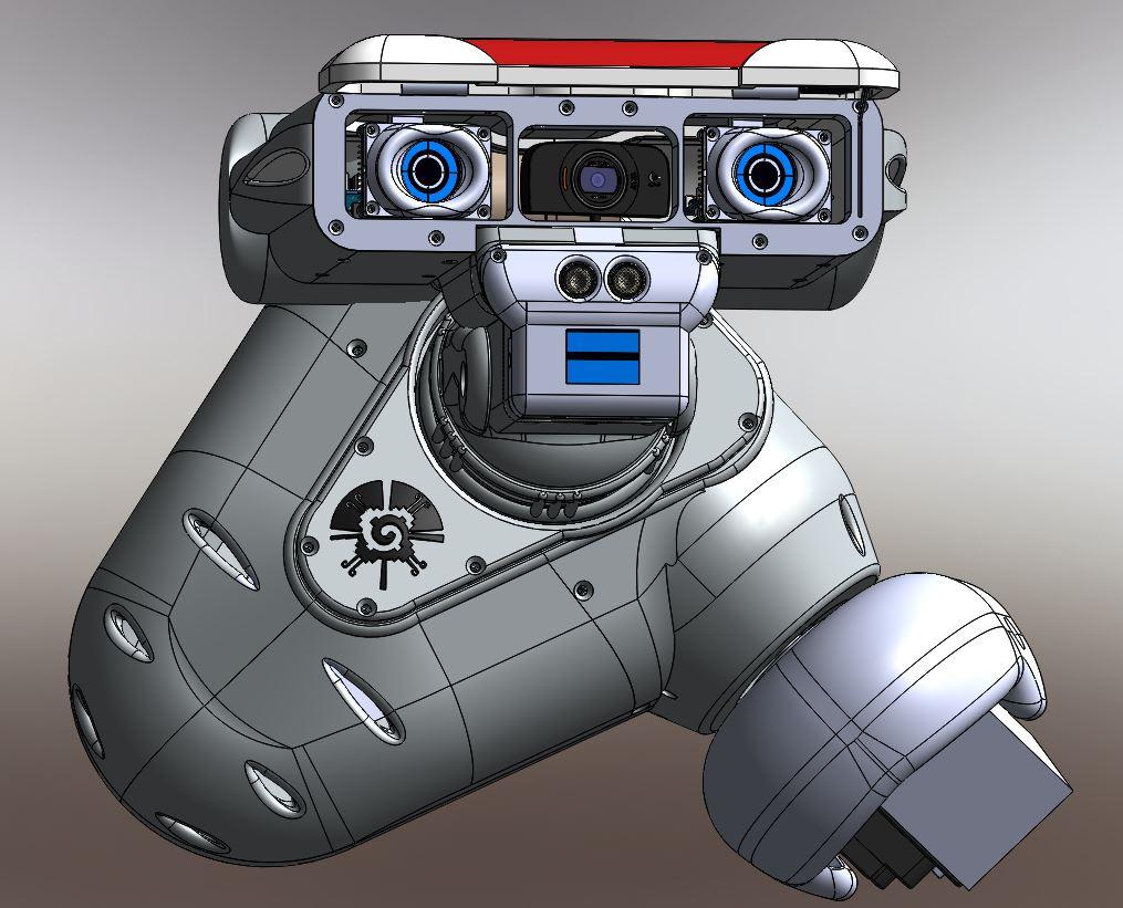 RedOhm robot Maya etude de l'epaule 016
