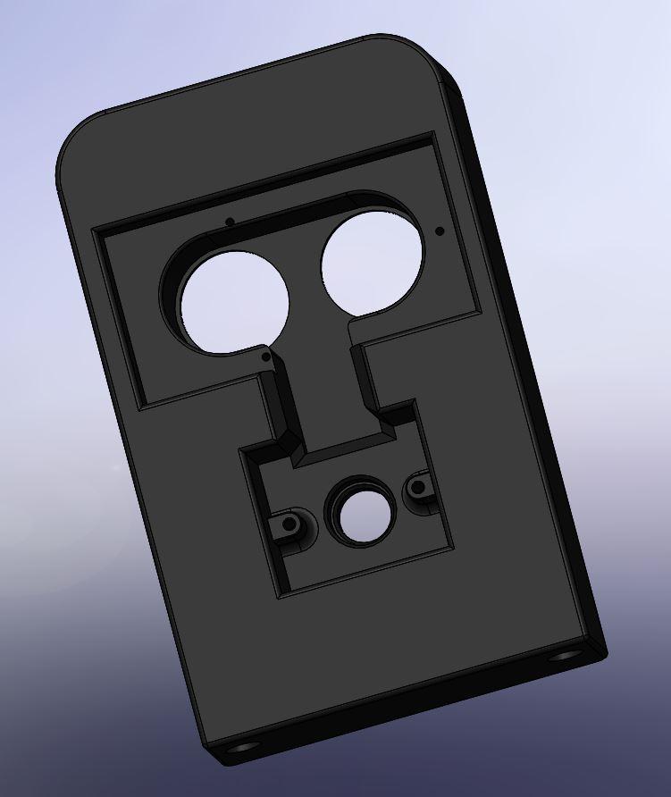 002 -support telemetre + led