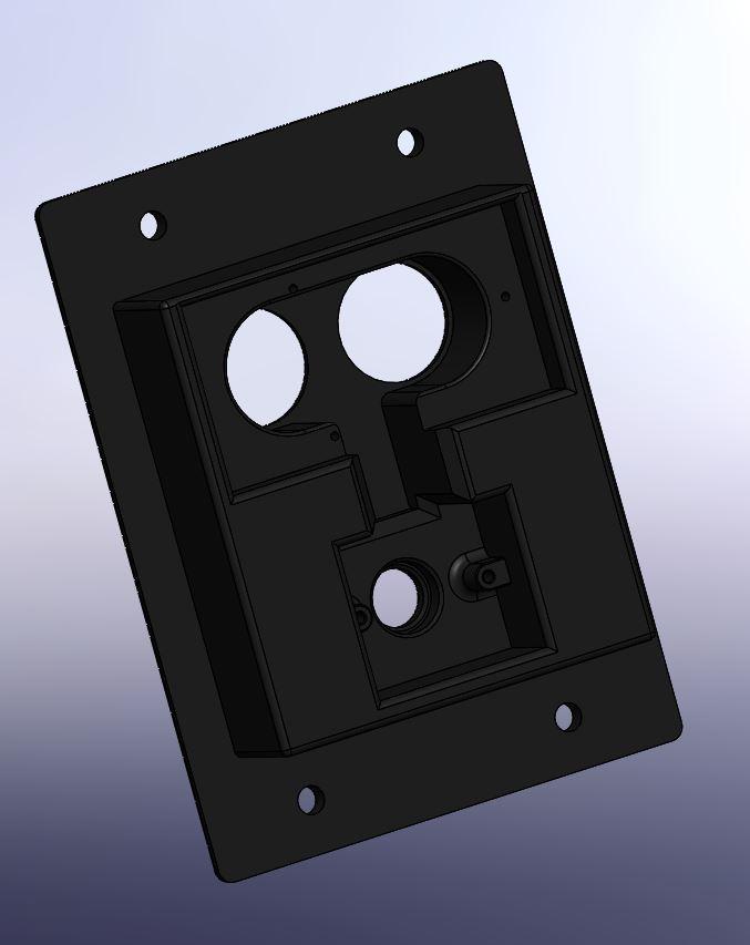 004 -support telemetre + led