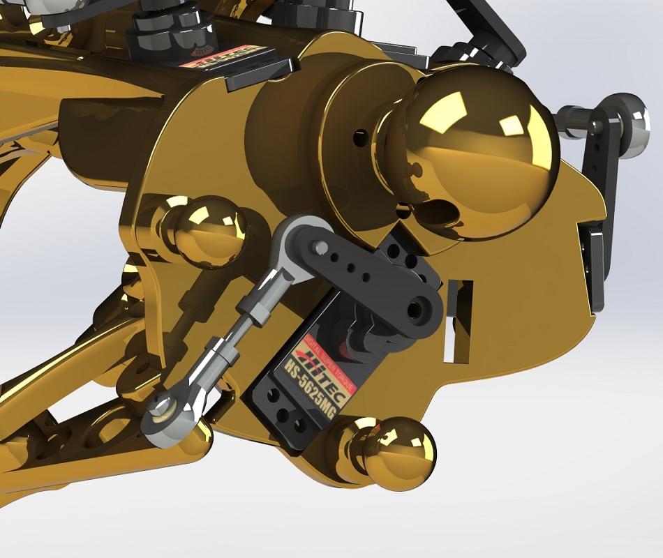 Terminator RedOhm avant bras 21