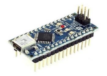 Vue de la carte Arduino Nano