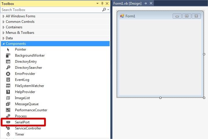 Visual Studio Serial Port