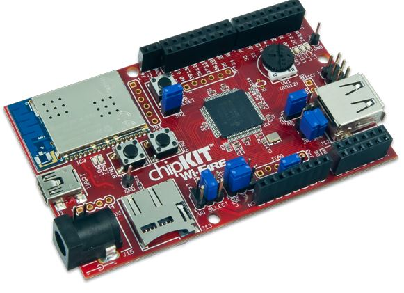 chipKIT Wi-Fire RedOhm 001