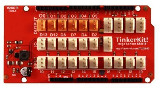 Shield E/S pour Arduino Mega 2560 Sensor Shield TinkerKit