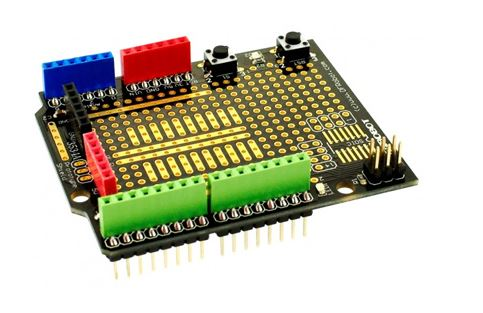 Shield de prototypage DFR0019 pour Arduino Uno
