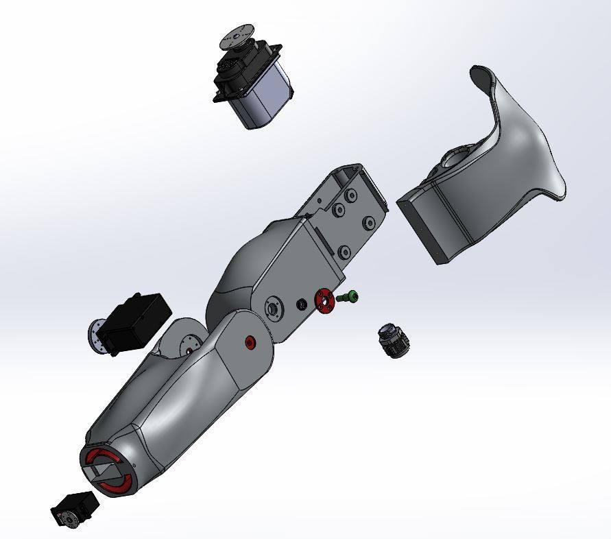 Le bras du robot Maya - RedOhm