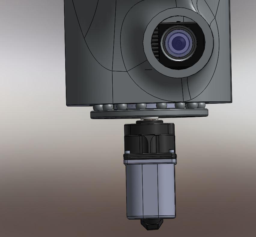 Maya rotation thorax visu sur le pico projecteur RedOhm - 004