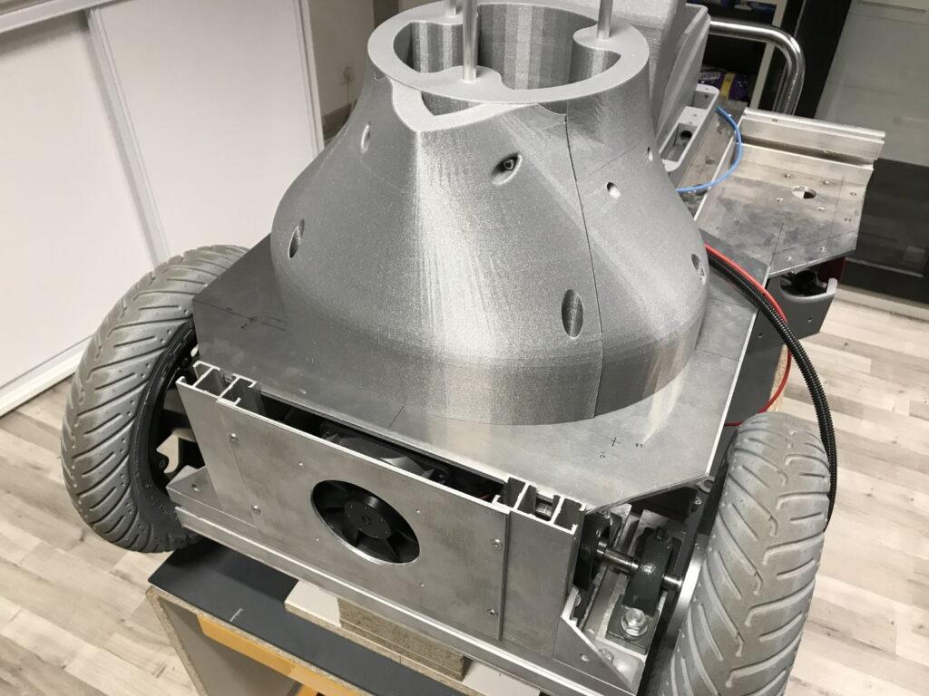 Pierce de carrosserie , base du robot Maya – RedOhm01