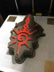La déco dans l'imprimante 3D