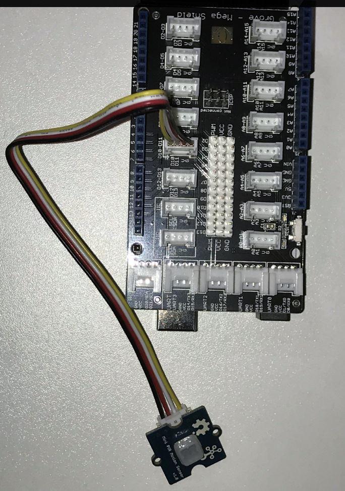 Détecteur de mouvement Grove 101020353 sur le module Mega Shield V1.2 103020027 - RedOhm