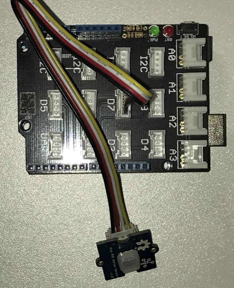 Détecteur de mouvement Grove 101020353 sur le module de Base Shield 103030000 - RedOhm -
