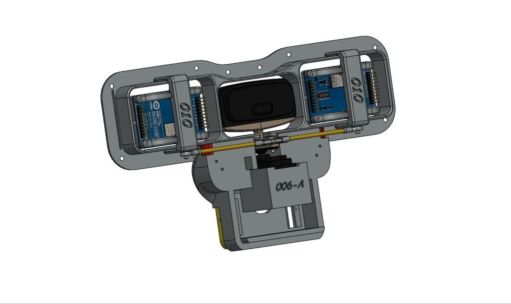 Le robot Maya , Le systéme de vision ( 01 )