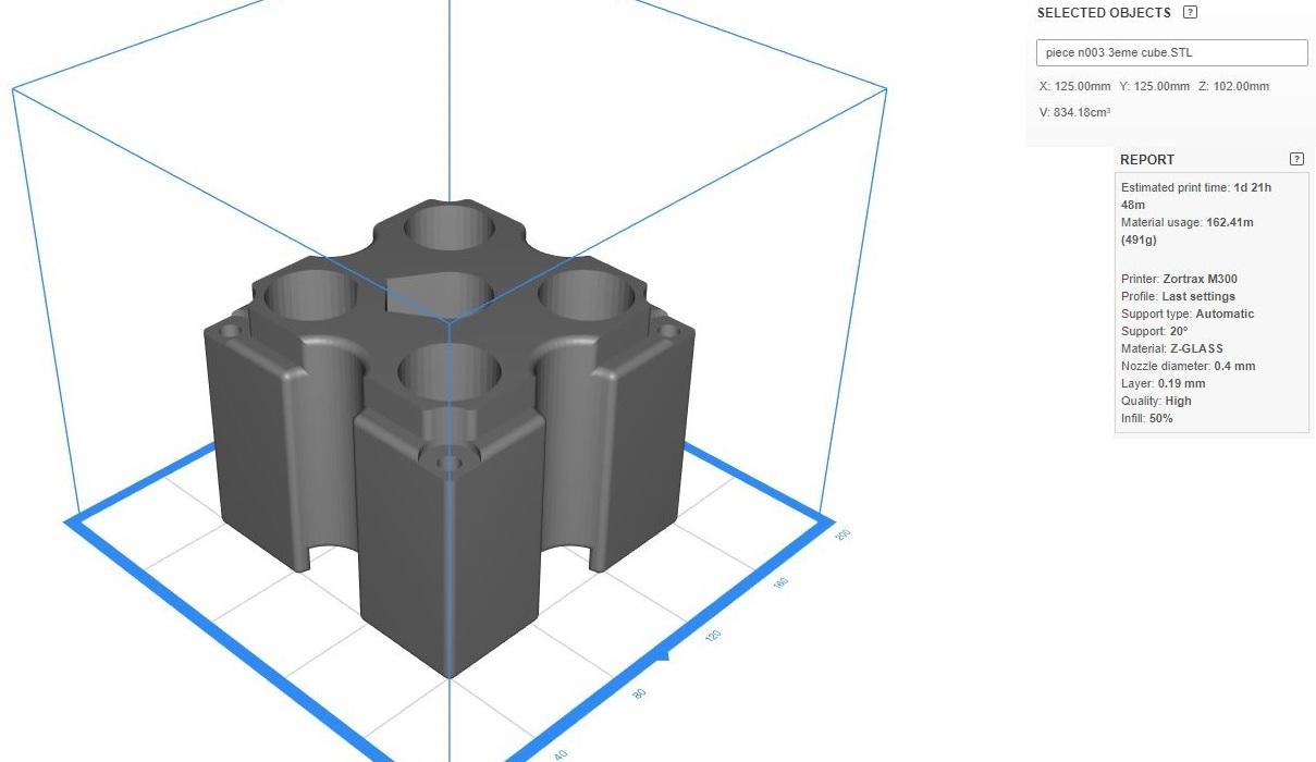 3 eme cube - Nestor -