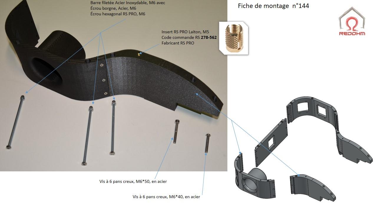 Fiches de montages du châssis de Nestor - RedOhm