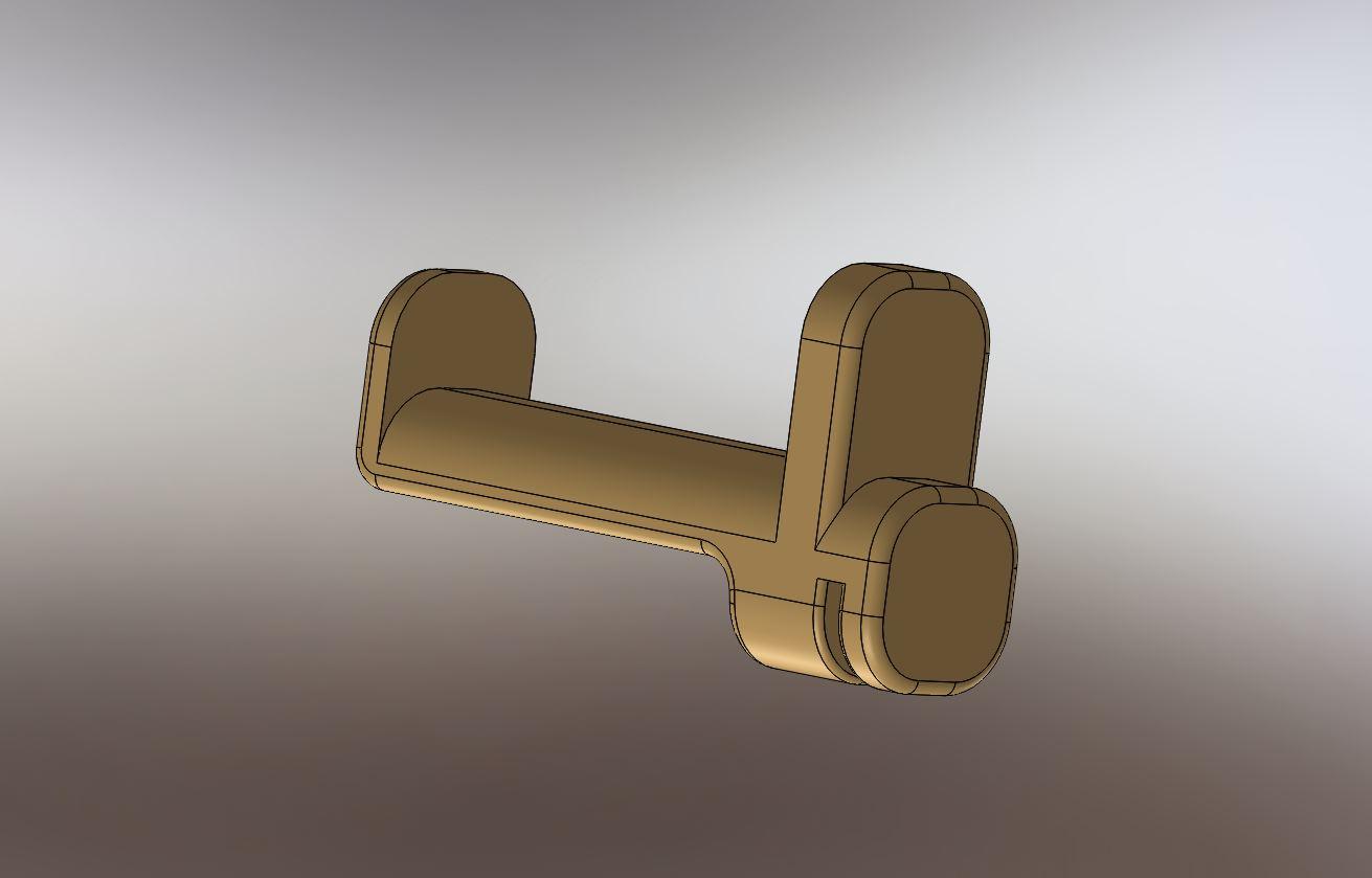 Support bobine Zortrax M200 RedOhm - 0011