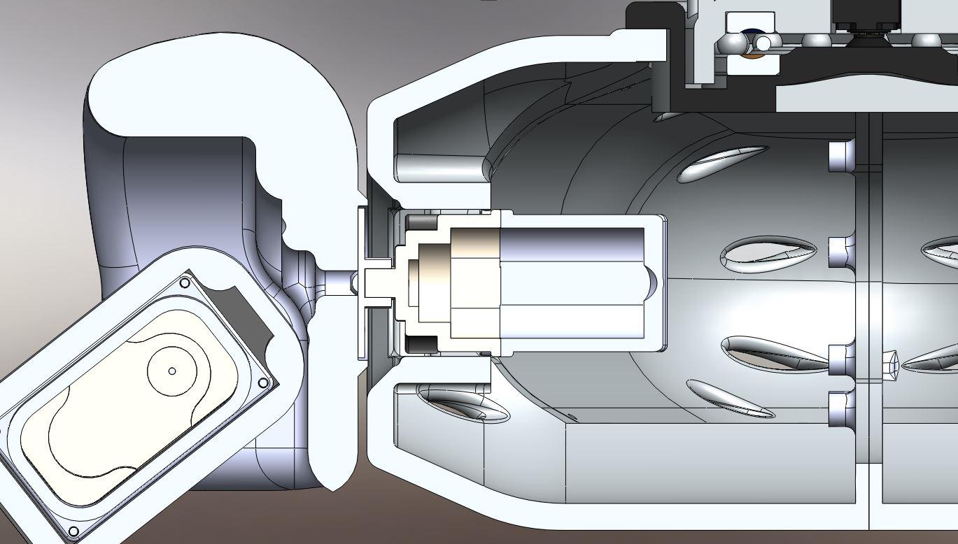 RedOhm robot Maya etude de l'epaule 008