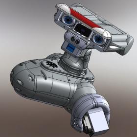 RedOhm robot Maya etude de l'epaule 010