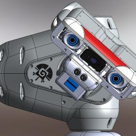 RedOhm robot Maya etude de l'epaule 012