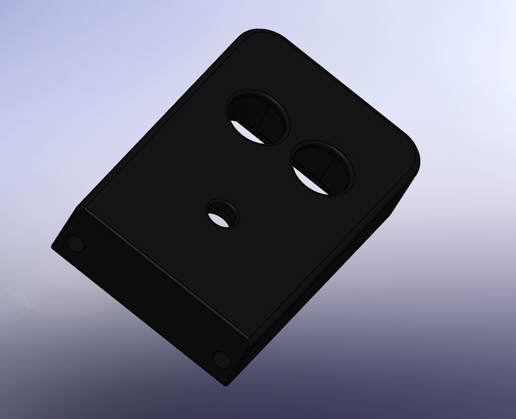 003 -support telemetre + led