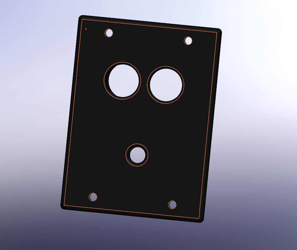 005 -support telemetre + led