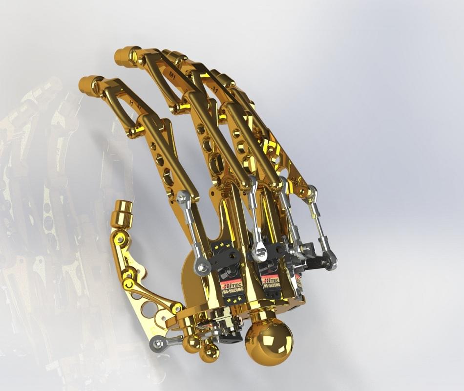 Terminator RedOhm avant bras 11