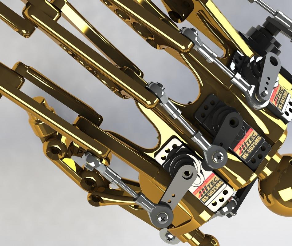 Terminator RedOhm avant bras 26