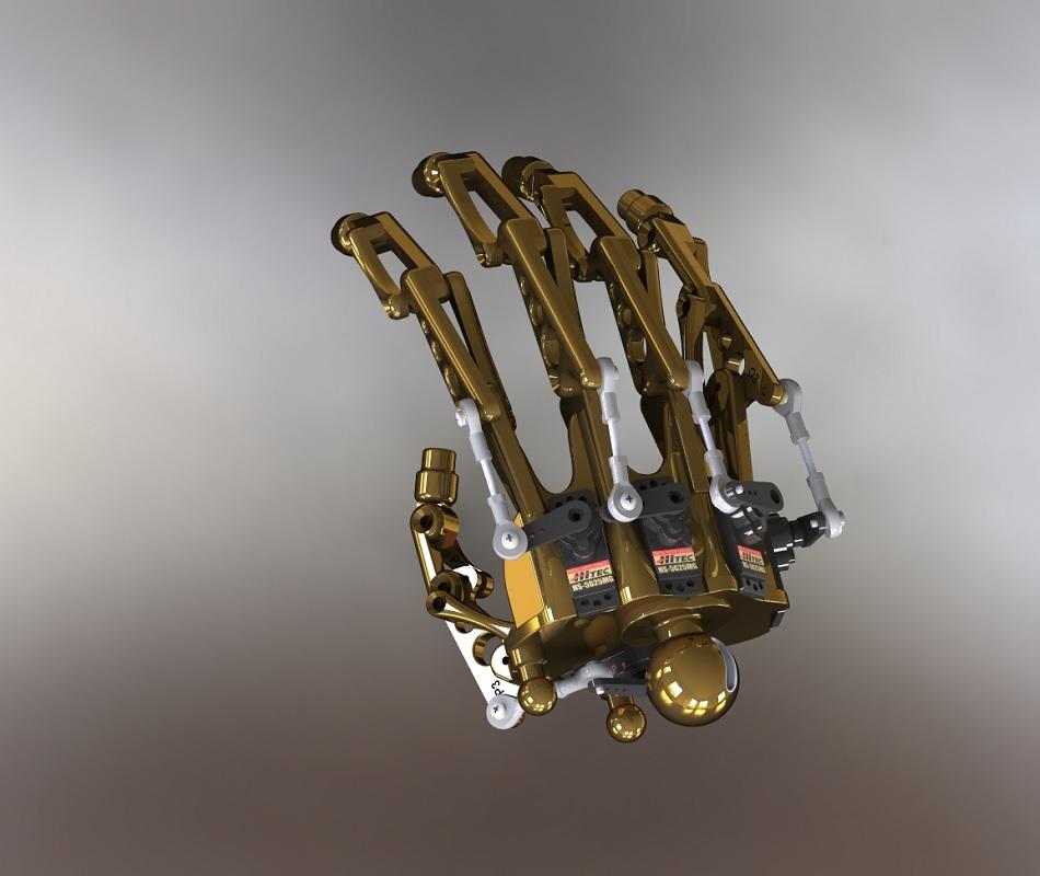 Terminator RedOhm avant bras 30