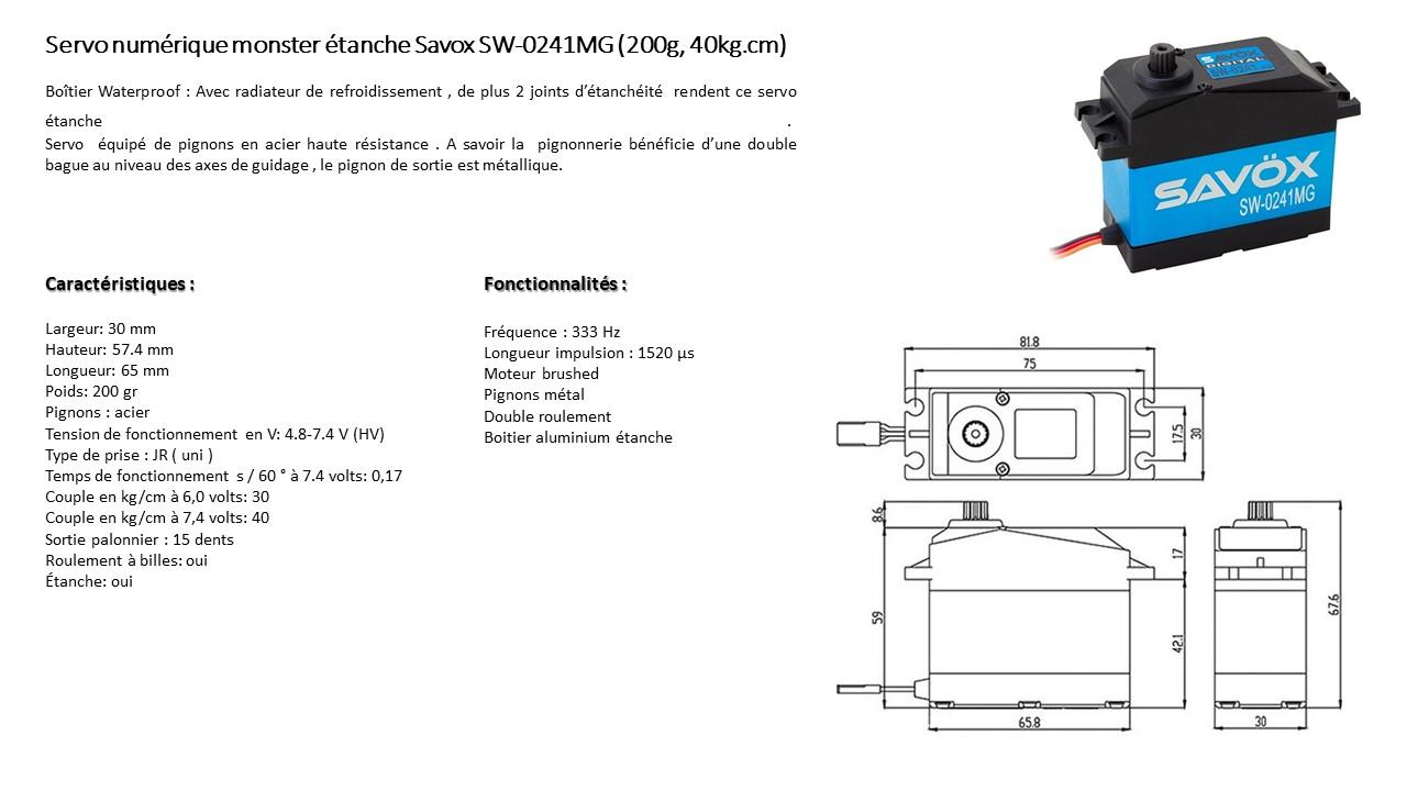 SAVOX SW-0241MG