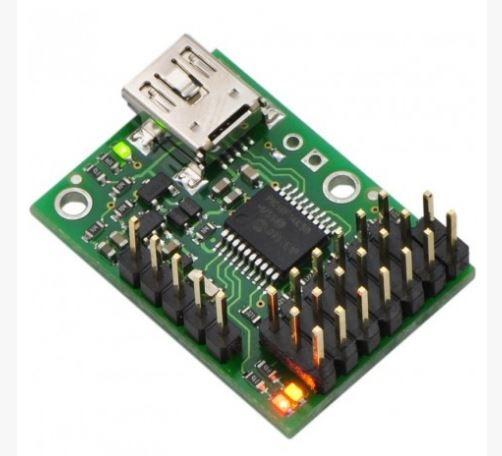 POLOLU Micro Maestro 6 canaux RedOhm -001
