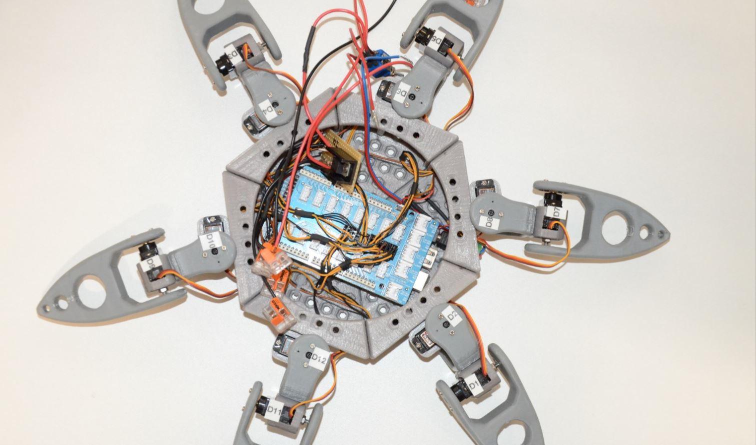 Robot Spider repérage RedOhm