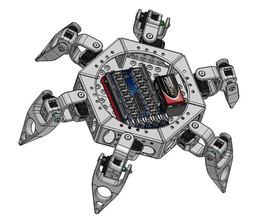 Mini Spider S12 patte courte Version 02022017 - RedOhm