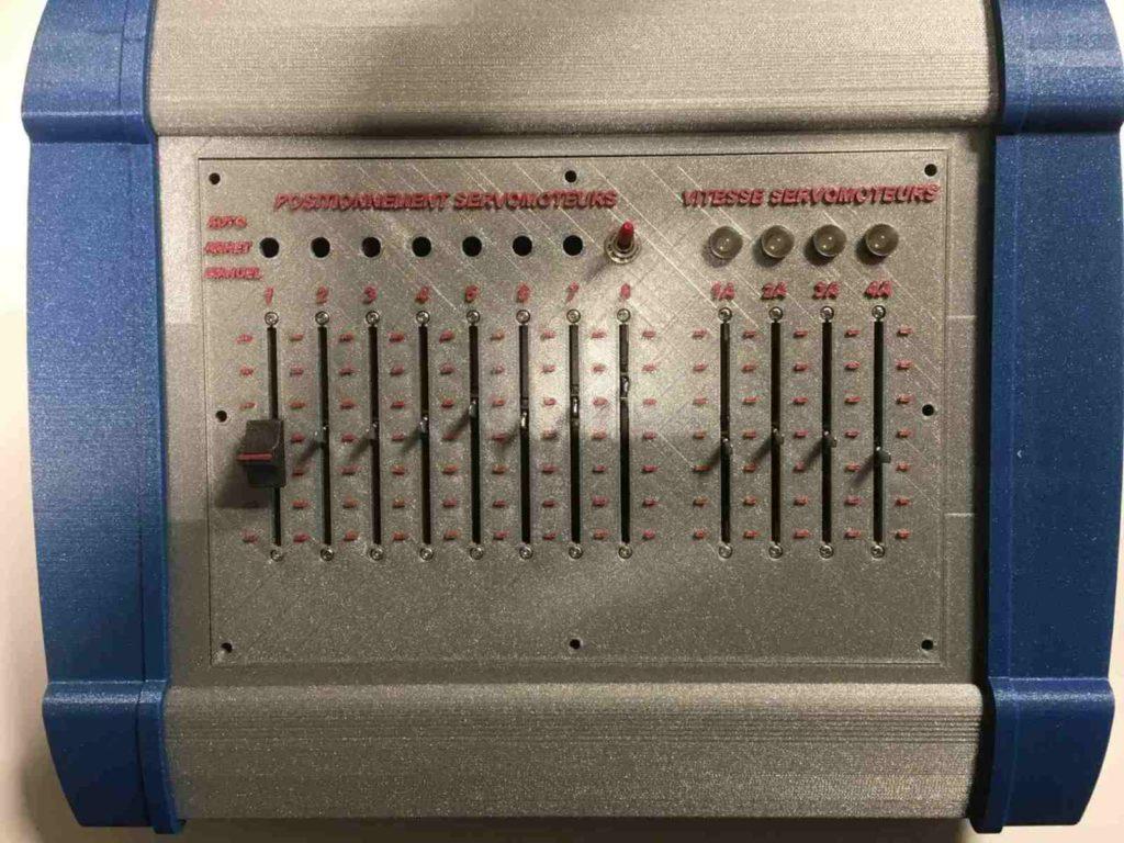 Coffret controle servomoteur 001