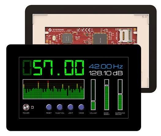 Ecran tactile 7'' gen4-uLCD-70DCT-CLB-AR pour Arduino - RedOhm