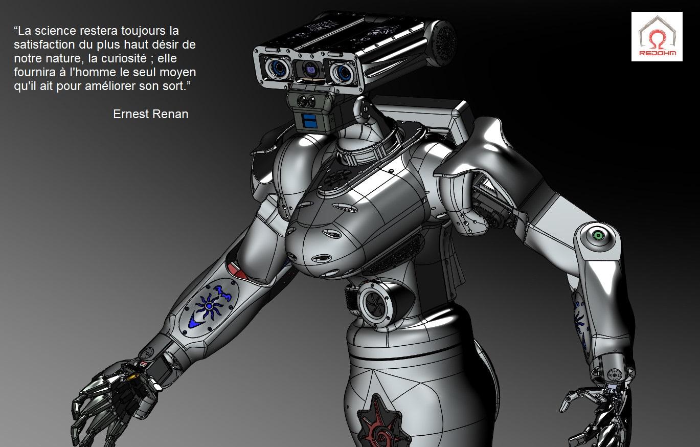 Le robot Maya une réalisation de RedOhm