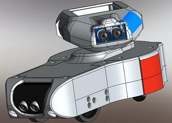 Le robot GOLBOTTH8 - Un réalisation de RedOhm -