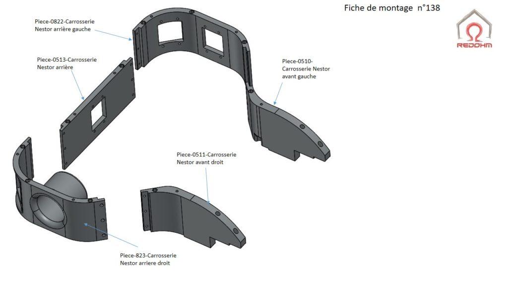 0138-Montage du châssis de Nestor