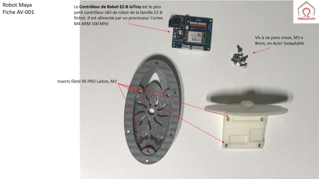 Robot Maya .Fiche AV-001