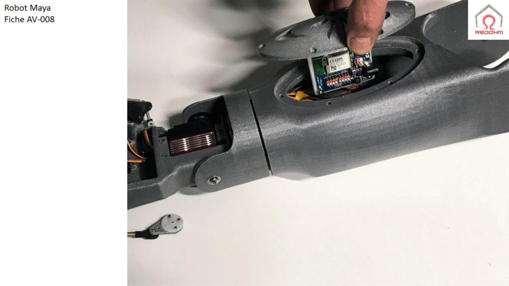 Robot Maya .Fiche AV-008