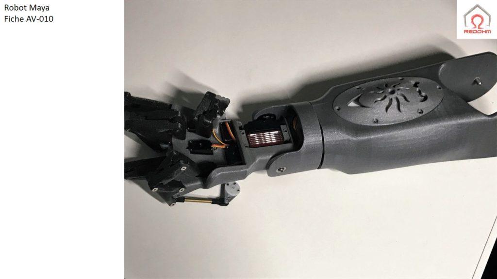 Robot Maya .Fiche AV-010