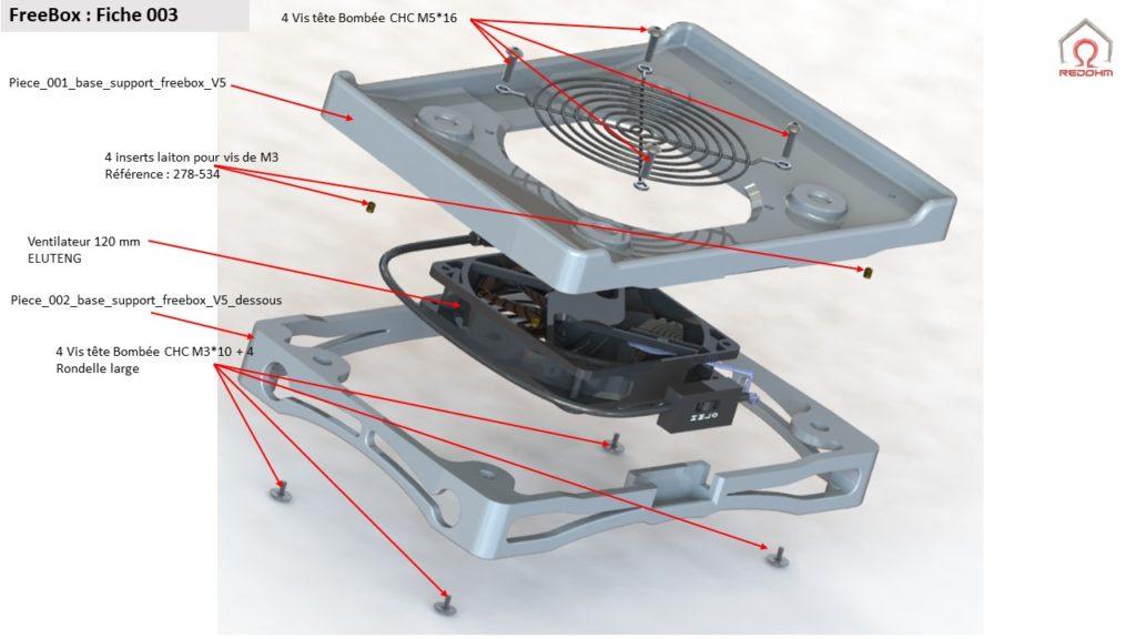 FreeBox plan mécanique - RedOhm